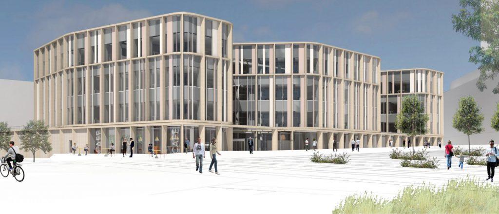 Научно-исследовательский хаб Университета Глазго.