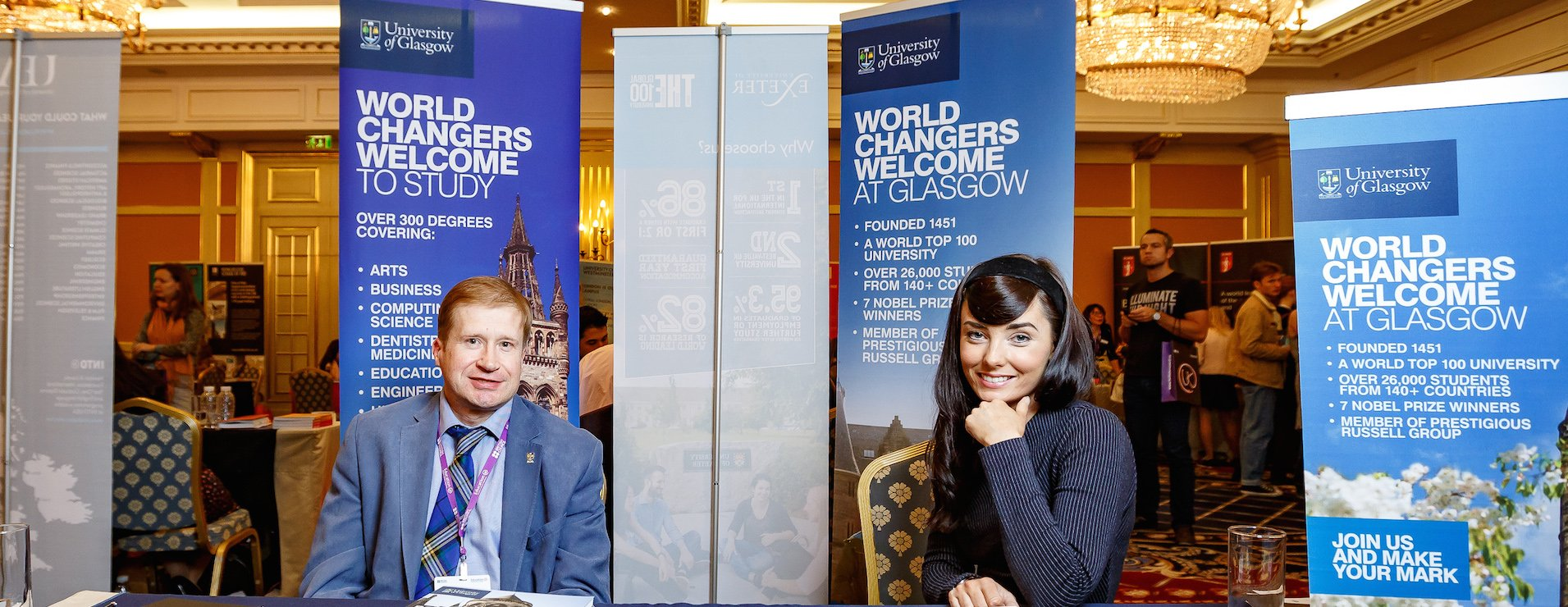 как поступить в университет глазго через представительство в России